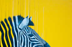 Vibrantly Fluorescent Animal Illustrations - Louise McNaught Sketches Wildlife Using Mixed Media