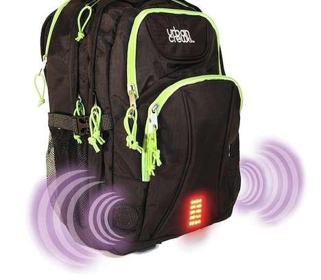 Siren-Blasting Backpacks