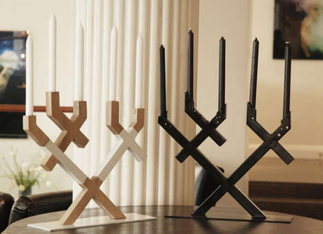 Criss-Crossing Candelabras