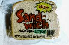 Sandwich Baggy Artwork - David Laferriere Creates a Different Lunch Design Every Day