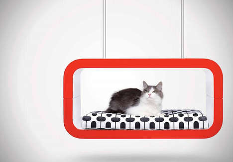 Contemporary Pet Furnishings - The Forma Italia Suite Series Combines Comfort With a Chic Design