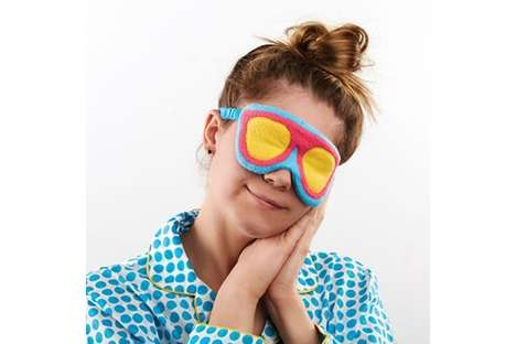 Vibrant Sunglass Sleep Masks