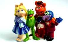 Iconic Puppet Shaker Sets - The Muppets Salt and Pepper Set Pays Tribute to the Fun-Loving Group