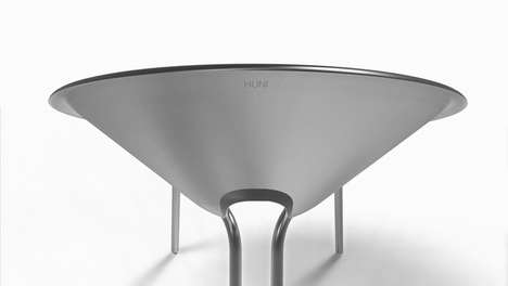 Industrial Funnel Seating