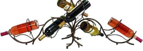 Metal Vine Vino Holders