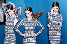Playful Pattern Pictorials - The Nasty Gal Lookbook Bursts with Hip Energy