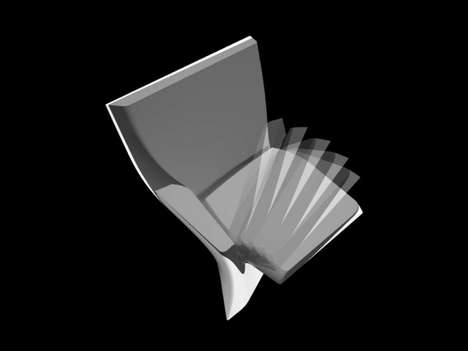 Asymmetrically Folding Seats