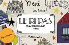 Bicycle-Encouraging Cafes - The Le Repas Bistro Rewards Cyclists by Offering a Free Meal