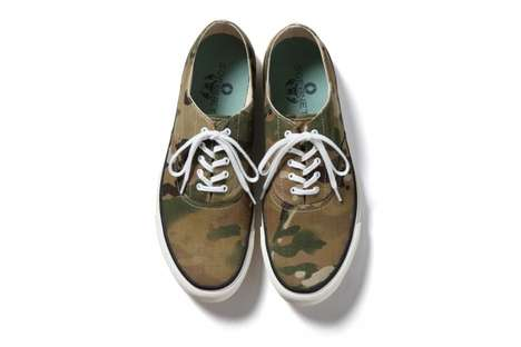 Hipster Deck Shoes - The SOPHNET 2013 Canvas Kicks Are Perfection