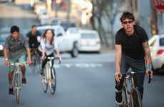 Inner City Cycling Lookbooks - The Levi's Commuter 2013 Spring/Summer Lookbook Hits the Streets
