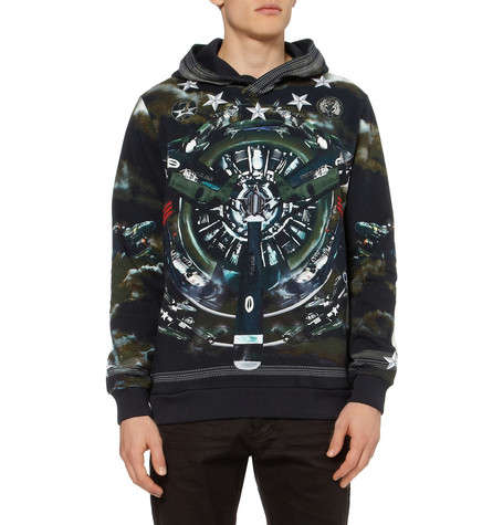 Airplane-Inspired Apparel - The Givenchy Airplane Print Hoodies are Hip