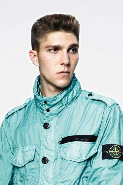 Waterproof Military Sportswear - The Stone Island 2013 S/S 'Membrana TC' Jackets are Durable