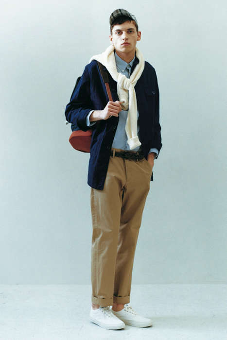 Preppy Hipster Lookbooks - The Journal Standard 2013 S/S Lookbook Features Disheveled Menswear