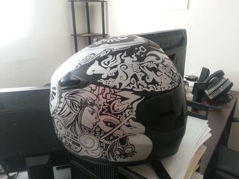 Geeky Gamer Biking Helmets