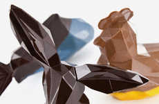 Geometrical Easter Chocolates