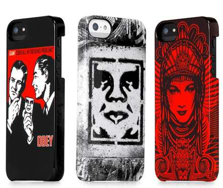 Stenciled iPhone 5 Covers - The 2013 Incase x Obey iPhone Cases are Brazen