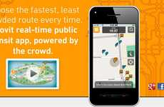 Crowdsourced Transit Apps - Moovit Allows User Base to be Informed of Real-Time Travel Conditions