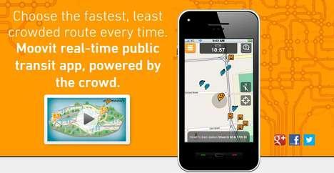 Crowdsourced Transit Apps