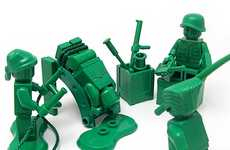 Political Criticism Toy Captures - Nolnet Captures the Nasty Side of War via Toy Soldier Photography