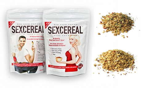Aphrodisiac Cereal Ingredients