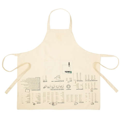 Cooking Measurement Aprons