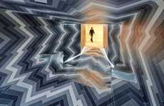 Illusory Imploding Interiors