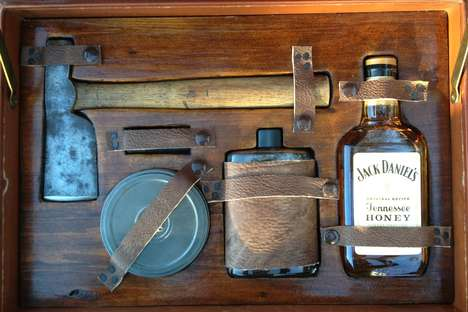 Macho Necessity Sets - The Gentleman's Survival Kit is Full of Essentials for Men