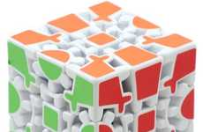 Brain-Building Block Games - The Gear Cube Extreme is a Mind-Teasing Puzzle Cube Toy