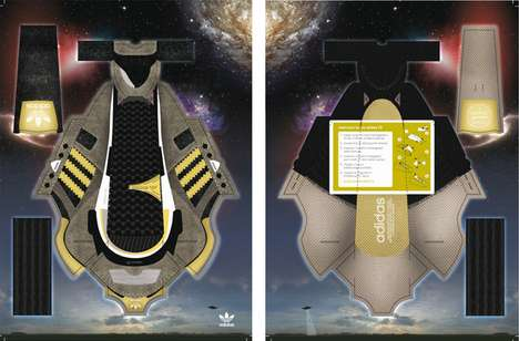 Papercraft Sneaker Campaigns