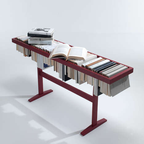 Inverted Bookshelf Makeovers
