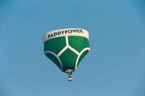 Floating Briefs Publicity Stunts
