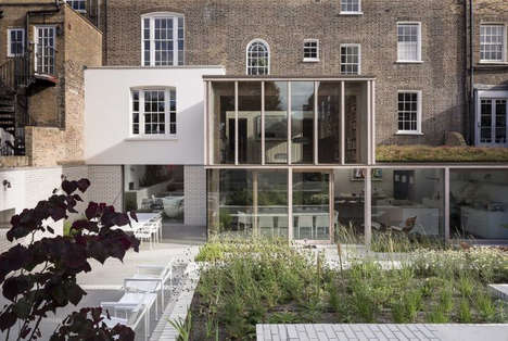 Camouflaged Cubist Abodes - The East London House By David Mikhail Architects is Astounding