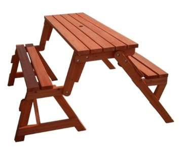 Collapsable Picnic Table Benches