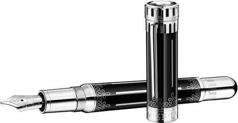 Historically Embellished Luxury Pens