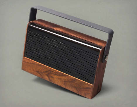 Portable Wooden Sound Systems