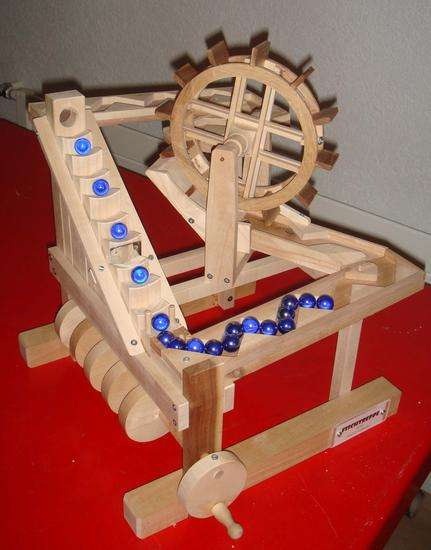 Puzzling Wooden Marble Machines