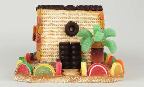 Passover Candy Houses