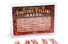 Premonitory Bacon Strips - This Novelty Fortune-Telling Bacon Mimics the Magic Eight Ball