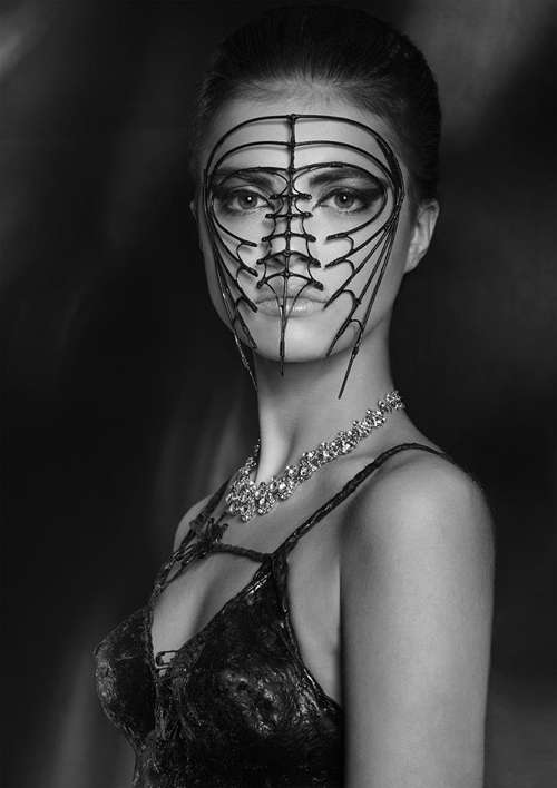 Skeletal Caged Couture