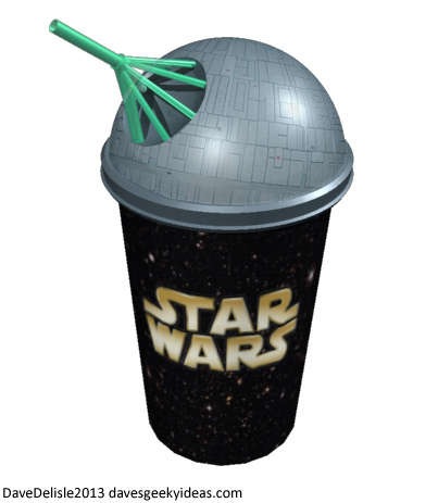 This Star Wars Cup from Dave's Geeky Ideas Cleverly Emulates the Death Star