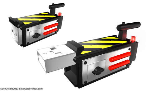 Dave Delisle's Ghostbuster Ghost Trap USB Will Capture Your Files