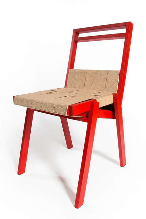 Stackable Woven Seating
