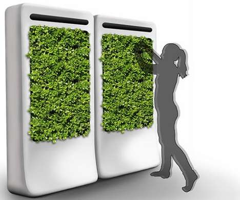 Indoor Gardening Pods - The FreshWall Design System Allows One to Grow Plants Within Their Home