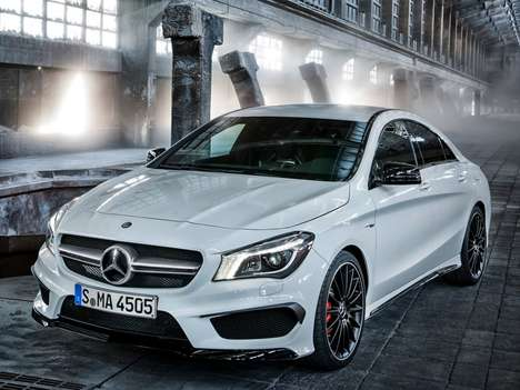Anticipated Automobile Unveilings - 2014 Mercedes-Benz CLA45 AMG Will Debut at New York Auto Show