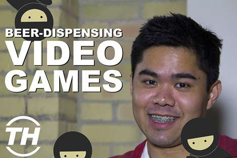 Beer-Dispensing Video Games - Ian Panganiban Examines a Beer Video Game to Rival Traditional Arcades