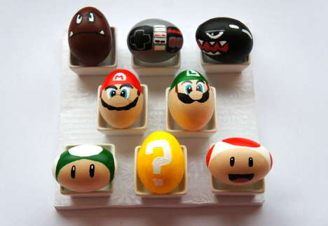 From DIY Video Game Themes to Designer Egg Exhibits