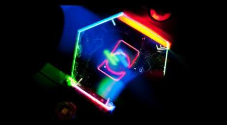 Holograph-Projecting Phones