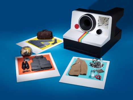 Polaroid-Themed Fashion Features