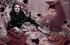 Haute Hoarders Photoshoots - The Vogue Italia Close Up Editorial Features Overflowing Rooms
