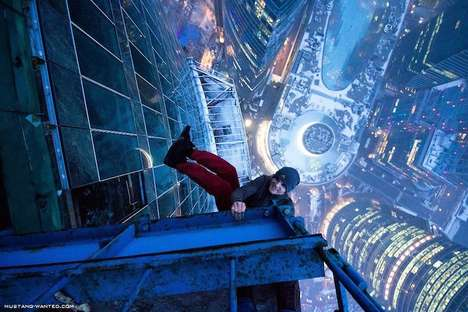 Staggering Daredevil Height Stunts